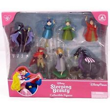 MALEFICENT SLEEPING BEAUTY AURORA Figurine Cake Topper Set Disney Princess