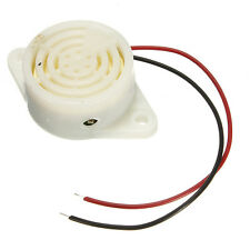 3V-24V 95DB Electronic Buzzer Beep Alarm Interrupted Sound 12V Mounting Hole