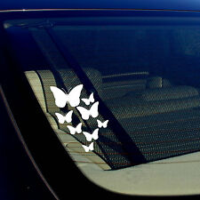 Butterfly Pattern For Laptop Tablet Auto Window Vinyl Decal Stickers 7.5""