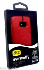 Genuine Otterbox Symmetry ShockProof Case Cover Samsung Galaxy S7 - Rosso Corsa