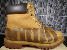 Timberland 26098 Mens Boots Shoes Grain Leather Yellow Black size 13 M US