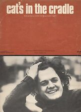 Harry Chapin  Cat's In The Cradle  US Sheet Music