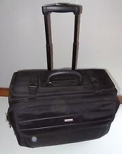 Solo Black Luggage Classic Rolling Catalog Case 18""