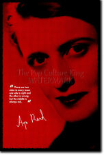 AYN RAND PHOTO PRINT - OBJECTIVISM POSTER GIFT ATLAS SHRUGGED