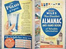 1940 MILES NEW WEATHER ALMANAC AND HANDBOOK OF VALUABLE INFORMATION