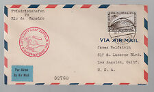 1930 Germany Graf Zeppelin South America Flight Cover  # C39