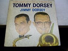 Tommy Dorsey/Jimmy Dorsey-Sentimental and Swinging-LP-Vinyl-Columbia-CL1240-VG+