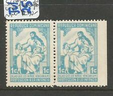 Dominican Republic SC RA35 Pair Imperf At Right MNG (5cxj)