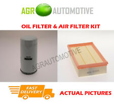 PETROL SERVICE KIT OIL AIR FILTER FOR FORD TRANSIT 350 2.3 145 BHP 2001-06