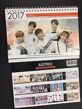 Kpop 2017 & 2018 K pop ASTRO High Quality Official Photo Desk Calendar