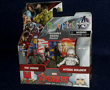 Marvel MiniMates Series 63 Age of Ultron THE VISION & HYDRA SOLDIER Figure 2 PK