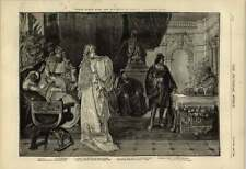 1876 Casket Scene From The Merchant Of Venice