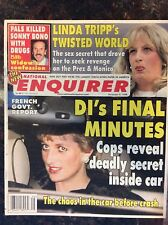 National Enquirer Feb. 23, 1999. Lady Diana. Hillary & Bill Clinton Pam Anderson