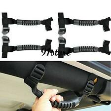 4Pcs Unlimited Grab Handles Handle For Jeep Wrangler Roll Bar YJ TJ JK CJ 07-15