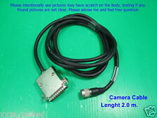 12 pin Camera connector to D-25Pin Frame Grabber as photo, Lenght  2 m. Cable.