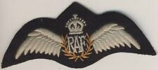 033 - Brevetto da Pilota della Royal Air Force - mod. King Crown