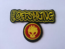 HEAVY METAL PUNK ROCK MUSIC SEW / IRON ON PATCH:- THE OFFSPRING (a) SMALL