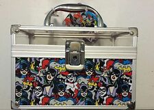 Gotham Girls Cosmetics Makeup Hard Case with Batgirl, Catwoman & Harley Quinn