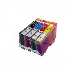 4 PACK fit HP 564XL color and photo black ink cartridges Photosmart 5510 5514