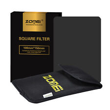Zomei 150*100mm Neutral Density Full Color ND16 Square Filter  for Cokin Z