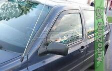 DVW31106 VW GOLF 3 mk3 3-DOOR 1991-1997 WIND DEFLECTORS  2pc HEKO TINTED