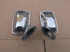 FORD CORTINA MK1 MK2 ESCORT PAIR OF CHROME WING MIRRORS