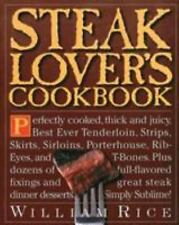 Steak Lover's Cookbook by William Rice (1996, Paperback)