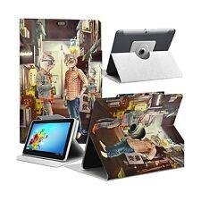 """Housse Etui Motif MV14 Universel S pour Tablette Polaroid Rainbow+ 7"""""""