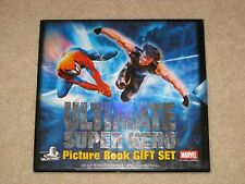 ULTIMATE SUPER HERO PICTURE BOOK GIFT SET SPIDERMAN X-MEN HARDCOVER BOX SET NEW