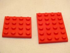 LEGO 4X4,4X6 RED FLAT PLATES BRAND NEW NEVER USED 220 PIECES