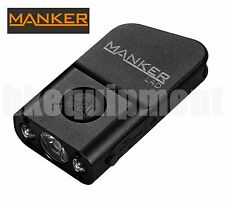 MANKER LAD Cree XP-G3+RED LED Mini USB Rechargeable Keychain 300lm Flashlight Bk