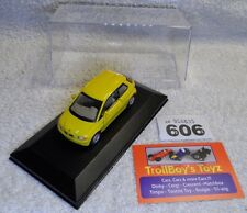 Lot 606. Caramara/Hongwell 1/43. BMW E1. With Display Case.