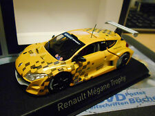 RENAULT Megane Trophy World Series 2011 Showcar Racing gelb Norev 1:43