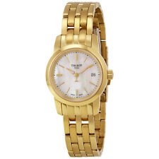 Tissot Classic Dream Gold-tone Stainless Steel Ladies Watch T033.210.33.111.00