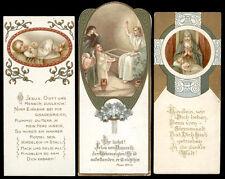 lotto santini-holy cards lot-lot images pieuses-konvolut heiligenbildichen n.148