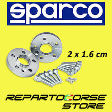 SPARCO WHEEL SPACERS KIT - 2 x 16mm - WITH BOLTS - FIAT BRAVO 198 - 4x98 - 58 CB