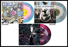 A DAY TO REMEMBER 3x LP Starburst Color Vinyl COLLECTION New SEALED Homesick