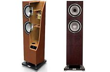 TANNOY REVOLUTION XT 8F Altoparlanti (coppia) - Noce scuro-Open Box-RRP £ 1299