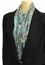 Liberty of London Handmade Silk Twill Infinity Scarf, Hanako Fabric