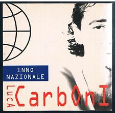 LUCA CARBONI INNO NAZIONALE CD SINGOLO SINGLE cds