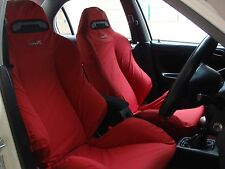 HONDA CIVIC TYPE R EK9 Tailored Protective RECARO Car Seat Cover (2 pieces)