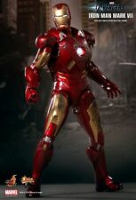 HOT TOYS 1/6 MARVEL AVENGERS MMS185 IRON MAN MK7 MARK VII ACTION FIGURE UK
