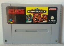 SUPER PINBALL BEHIND THE MASK - Super Nintendo Nes Snes Famicom - PAL - NOE