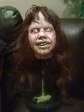 Regan Exorcist Linda Blair horror resin BUST on stand