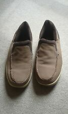 CUSHION WALK BROWN SLIP ON SHOES SIZE 9
