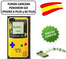 FUNDA CARCASA IPHONE 6 PLUS y 6S PLUS 5,5 POKEMON GO POKEBALL NINTENDO ESPAÑA