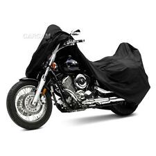 Black Motorcycle Cover For Yamaha V-Star XVS 650 950 1100 1300 Custom Classic