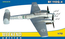 Eduard Weekend Edition 1:72 Messerschmitt Bf 110G-4 Aircraft Model Kit