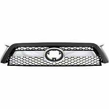 2010 2011 2012 2013 4RUNNER Upper Grille with Chrome Trim Front Bumper NEW