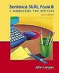 Sentence Skills: A Workbook for Writers, Form B-ExLibrary